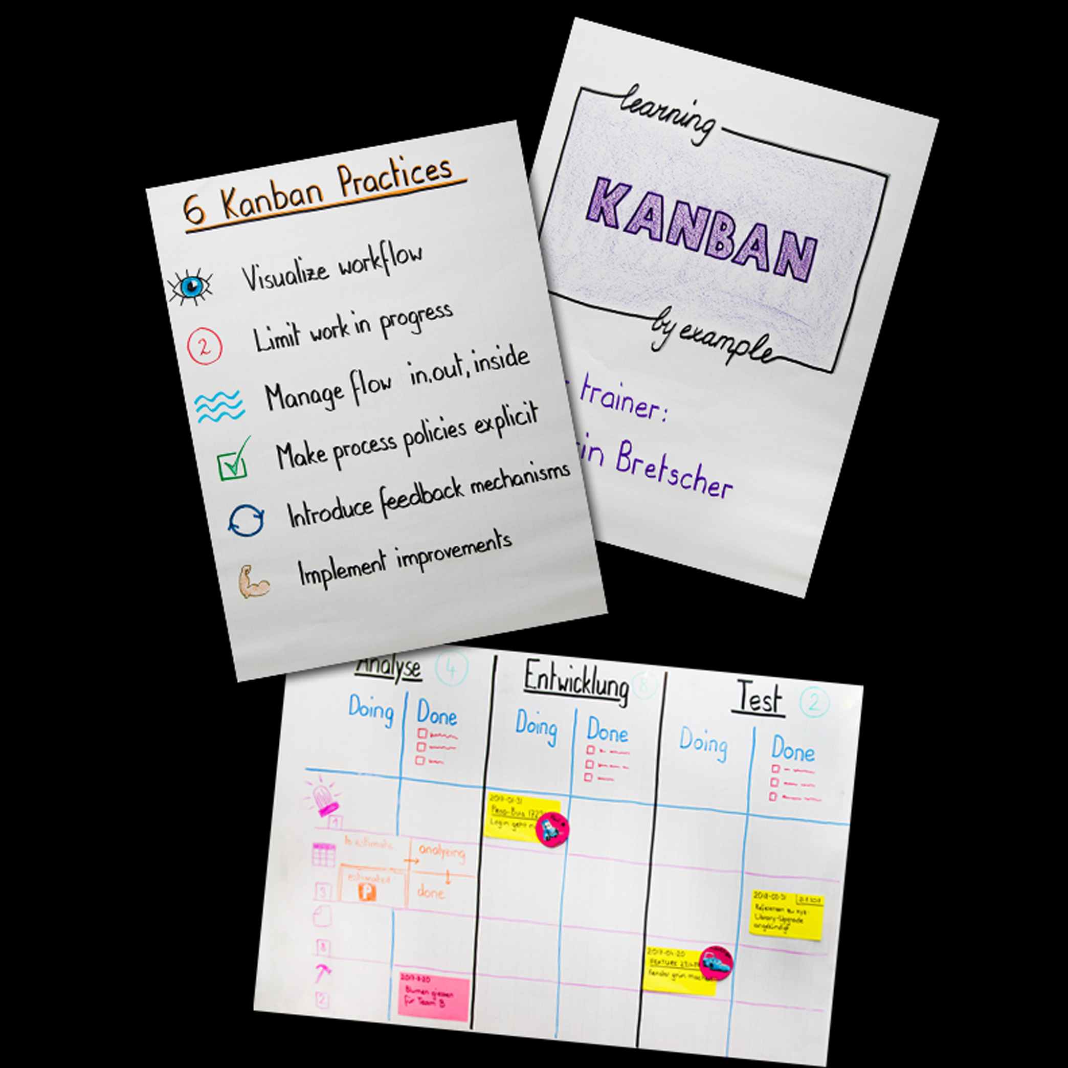 Agile Course with Scrum or Kanban